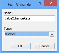 Variable XchangeRate